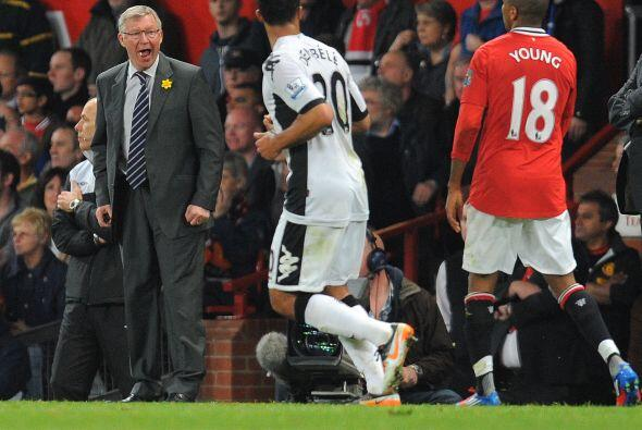 Esto no le gustó a Sir Alex Ferguson, quien le pedía mayor...