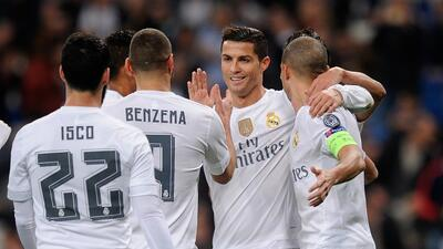 Real Madrid ostenta récord de partidos sin derrotas en la Champions League