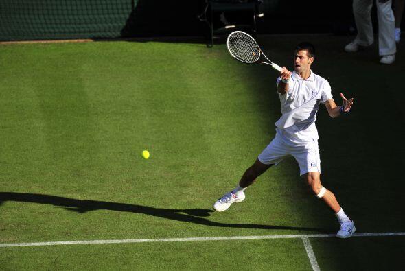 """""""Nole"""" inició su carrera para ser rey de Wimbledon y por el número uno d..."""