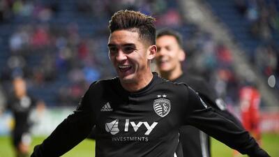 El chileno de Sporting Kansas City Felipe Gutiérrez es elegido como el Jugador del Mes de la MLS