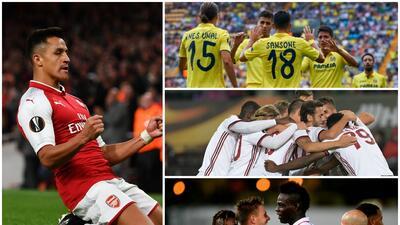 Sin grandes sorpresas, así se desarrolló la primera jornada de la Europa League