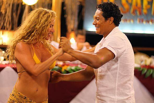 Y antes de dirigirse a la Gran Final, Oscar se echó un buen baile con Al...