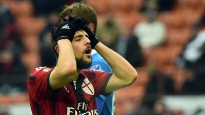 Destro convirtió el gol de los 'rossoneri', pero perdonó algunas oportun...