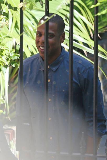 Jay-Z optó por una imagen casual.Mira aquí los videos m&aa...