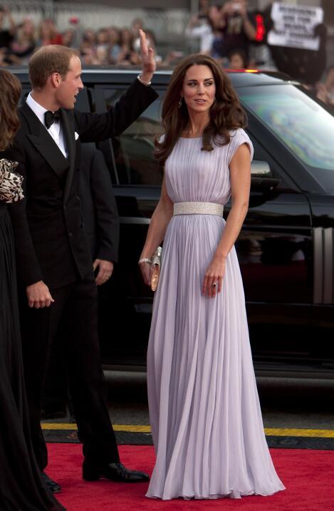 Kate acaparó la atención de Hollywood durante los premios BAFTA en 2011...