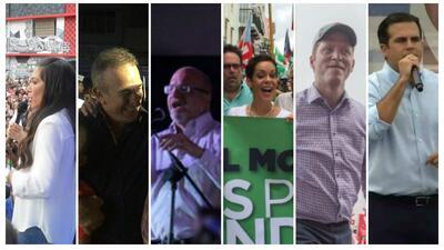 Seis cierres de campaña de cara a las Elecciones Generales en Puerto Rico