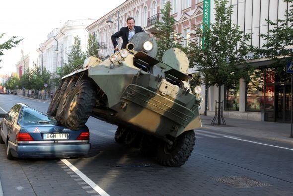 La próxima vez que los ciudadanos de Vilnius, Lituania, quieran estacion...