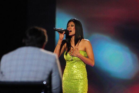 """""""Me gusta muchísimo cantar, creo que eso me podría abrir puertas"""", añadió."""