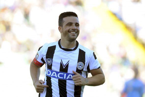 Di Natale sigue sumando goles a su cuenta.