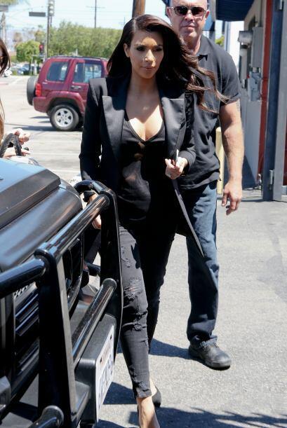 Fiu, fiu, ¡qué guapa, Kim! Mira aquí los videos más chismosos.