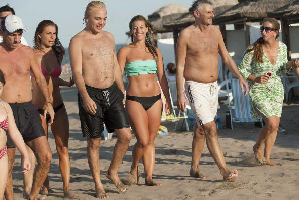 La pareja disfrutó de Mar del Plata. Aquí los videos m&aac...