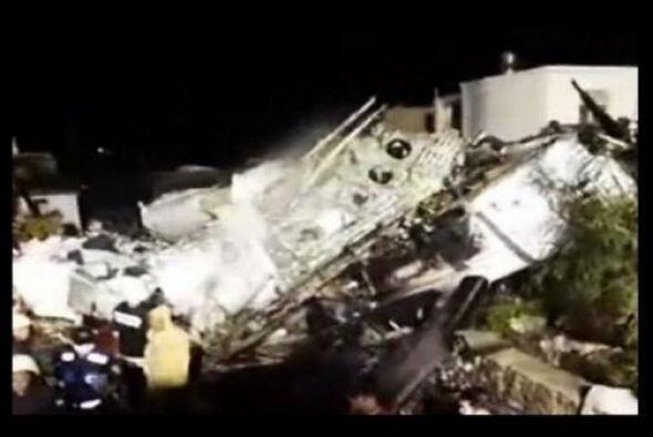 El avión llevaba 54 pasajeros y cuatro tripulantes.