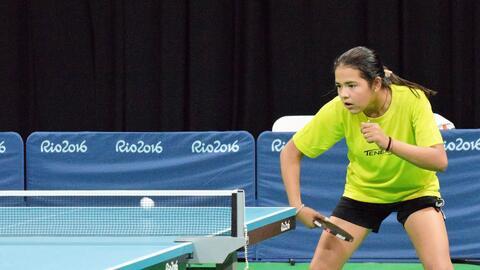 La atleta puertorriqueña en la disciplina del tenis de mesa har&a...