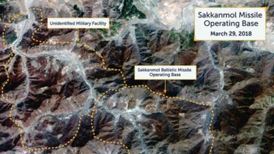 Una investigación sugiere que Corea del Norte tiene bases no declaradas de misiles balísticos