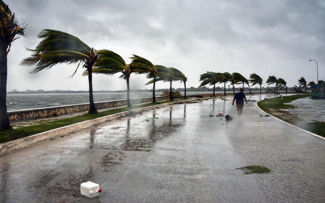In photos: Destruction and flooding in Cuba from the passage of Irma Get...