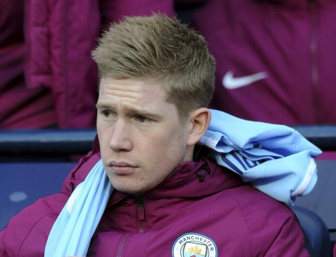 7. Kevin De Bruyne (Manchester City) - 167,8 millones de euros