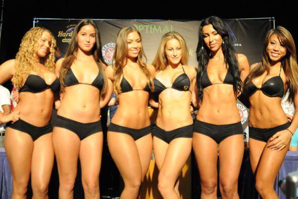 Y entre round y round también habrá espectáculo con las chicas del ring.