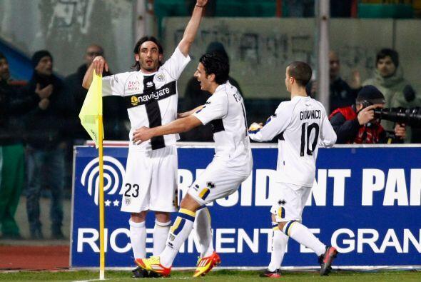 Y lo consiguió antes del final del primer tiempo. Francesco Modesto puso...