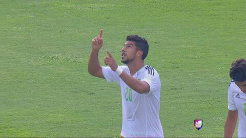 Los dos golazos de Eduardo Herrera que sirvieron para la victoria de Méx...
