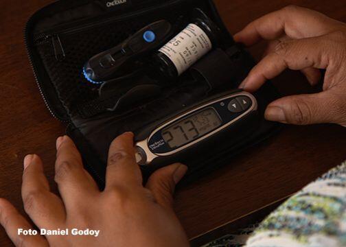 Juanita además debutó como diabética hace 14 años, una condición que le...