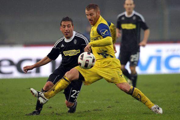 Chievo Verona fungió como local ante el sorprendente Cesena.