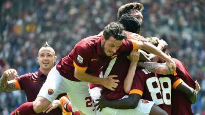 El cuadro romano aprovechó el traspié de la Lazio y sumó los tres puntos.