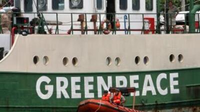 La organización ecologista Greenpeace anunció la construcción del nuevo...