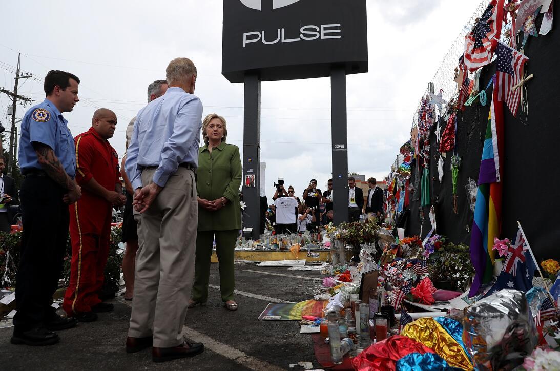 Hillary en Orlando