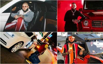 Farruko y sus autos