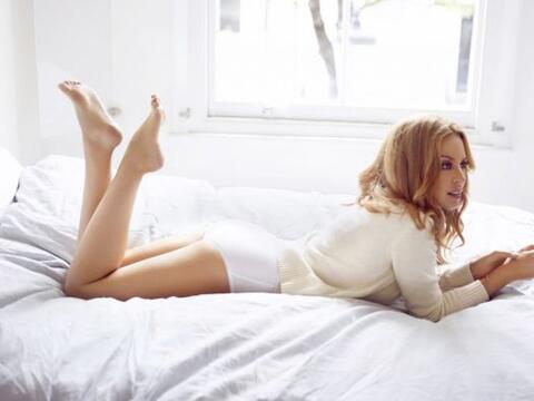 Kylie Minogue tiene un cuerpazo de infarto, pero su 'booty' es quiz&aacu...