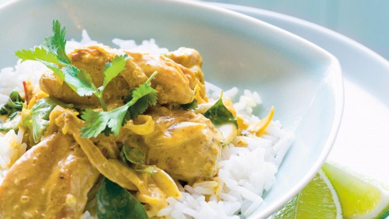Pollo al curry.