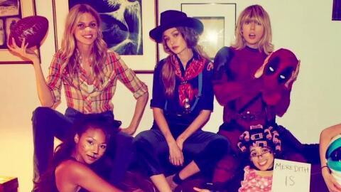 La fiesta de Halloween de Taylor Swift