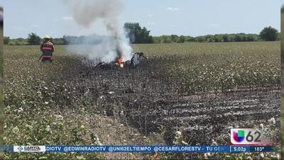 Caída de helicóptero en Granger cobra la vida de dos personas
