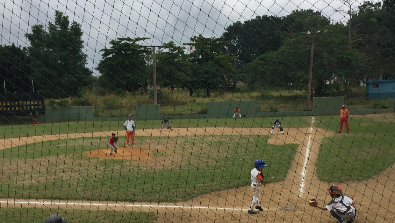 Este es el campo donde comenzó a jugar José Fernández a los 5 años.