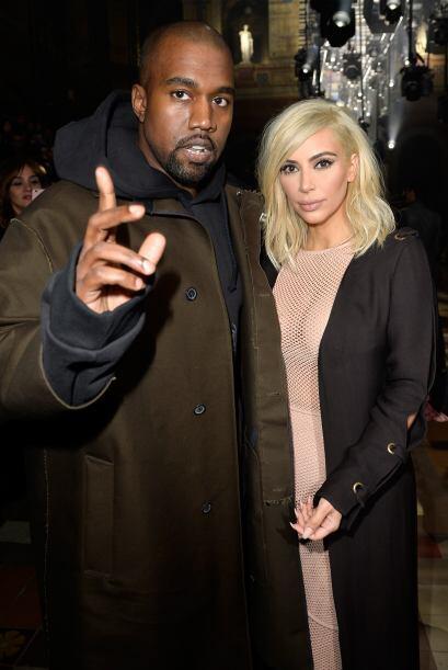 El vestido de Kim dejaba ver todo su cuerpazo.