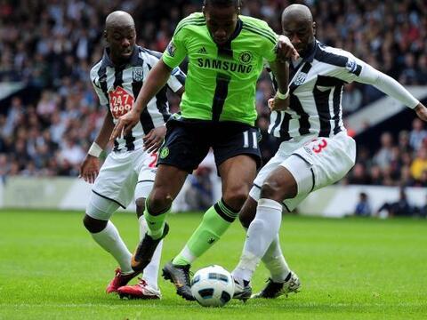 El Chelsea disputó un muy buen partido frente al West Bromwich de...