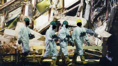 Las fotos nunca vistas del ataque al Pentágono del 11 de septiembre de 2001