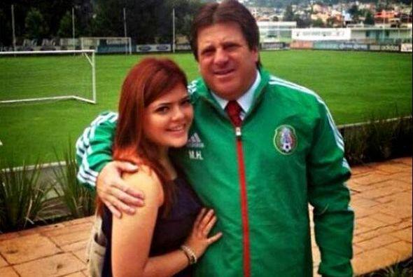 Mishelle Herrera, la hija del directivo de la selección mexicana...