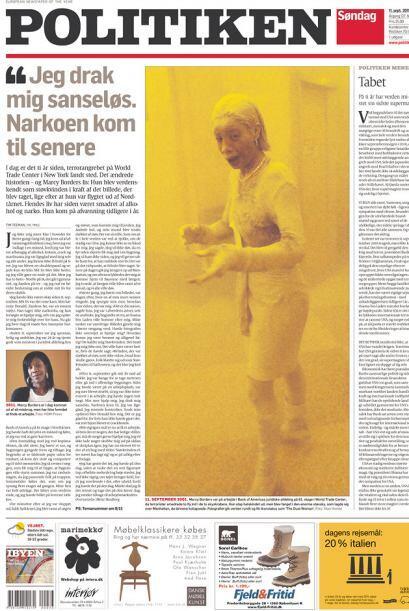 Cortesía del diario Politiken de Copenague, Dinamarca, vía Newseum.