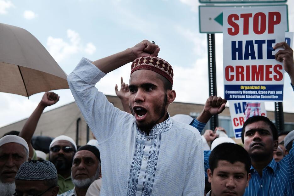Los musulmanes no tienen dudas de que se trató de un crimen de odio.
