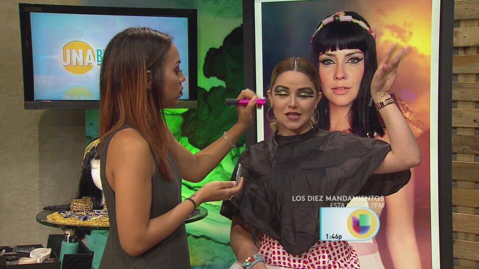 La transformación estuvo a cargo de la maquillista y YouTuber, Jomaris C...