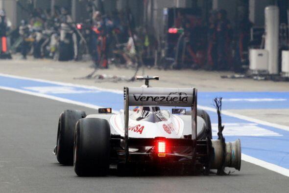 El alemán Sebastian Vettel (Red Bull) ganó el Gran Premio de India, 17ª...