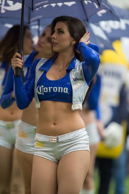 La belleza en los estadios de la Liga MX se hace presente en los cuartos...