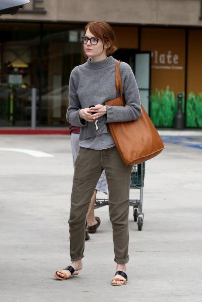 Pero mientras tanto, ¡nos encanta ver a Emma así!
