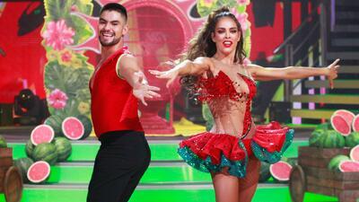 Sara Corrales bailó 'Llorando se fue', pero salió de la pista eufórica por los elogios