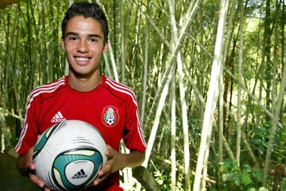Diego Reyes comenzó su andar en selecciones en el Mundial Sub-17...