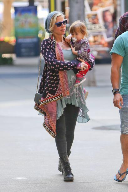 Otra mamá a la que le entró el síndrome 'fashionista' del embarazo es El...