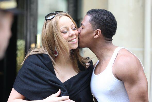 Mariah Carey se mantuvo sin comentar nada hasta que el actor fue quien d...
