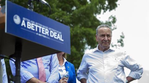 Schumer reconoce que los demócratas no han sabido decirle a los electore...