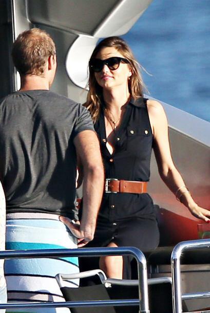 La súper modelo ya superó su divorcio de Orlando Bloom y se le ve muy so...